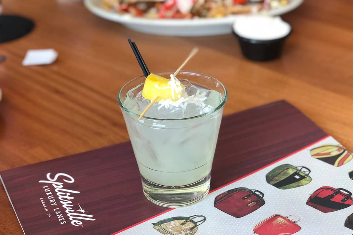 A cocktail from Splitsville