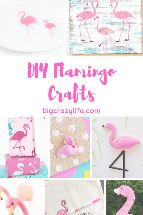DIY Flamingo Crafts