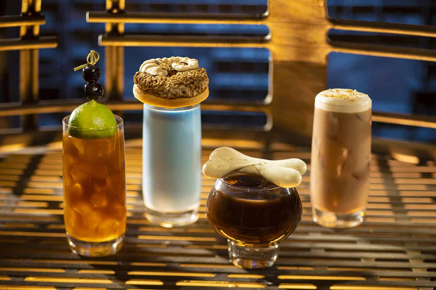 Beverage options from the Breakfast menu at Oga's Cantina