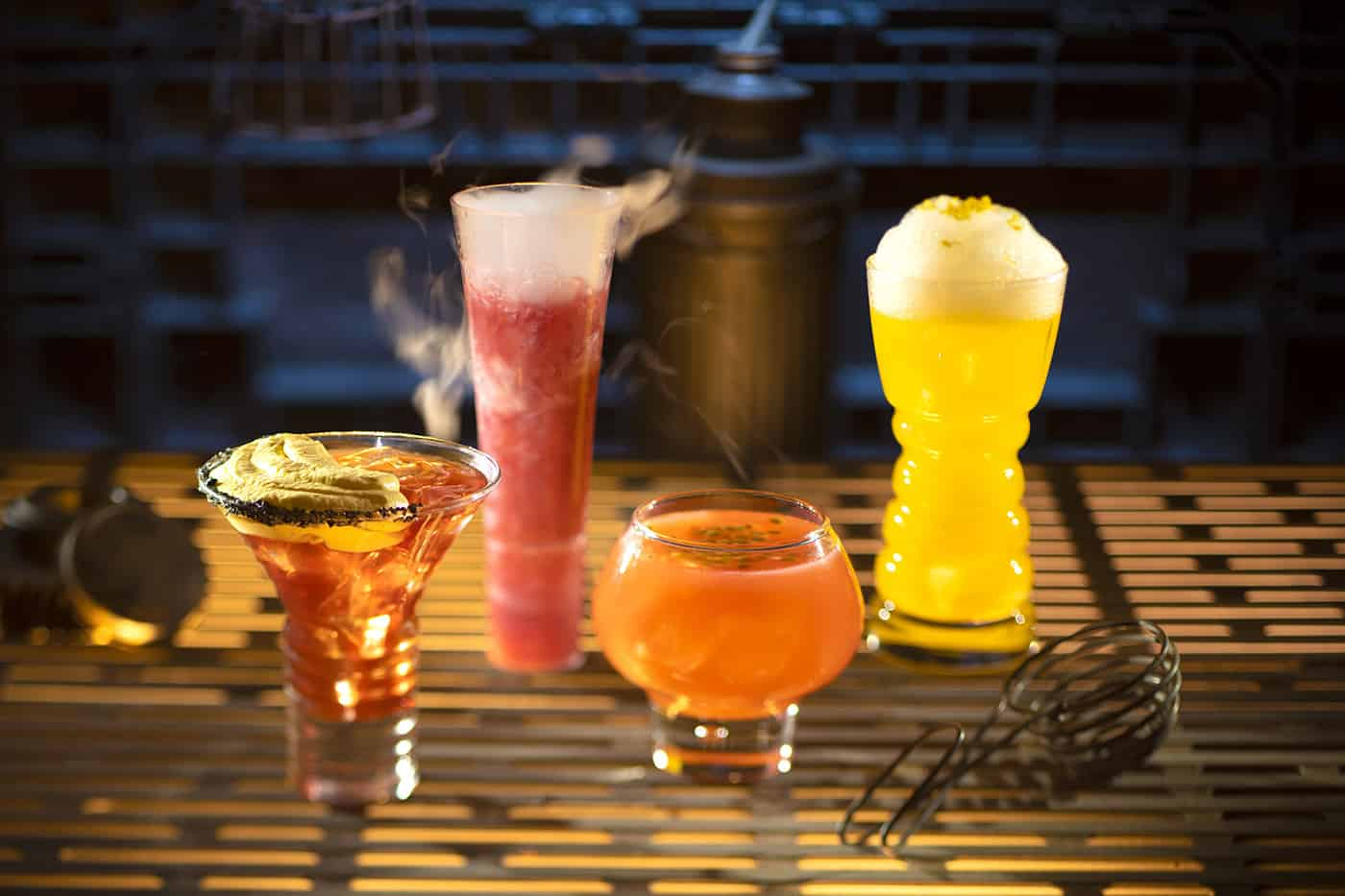 Cocktails from Oga's Cantina