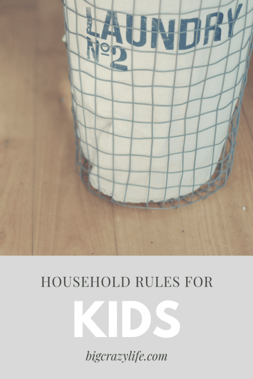 Household rules