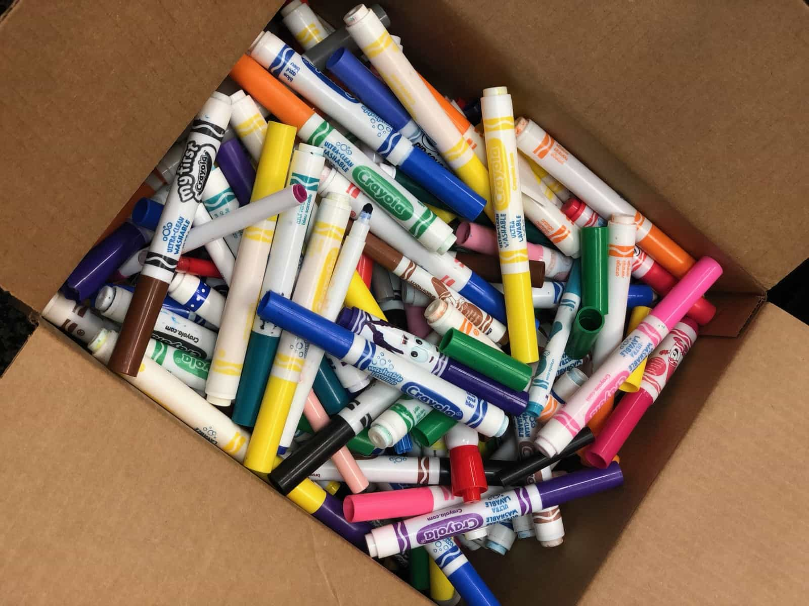 used markers