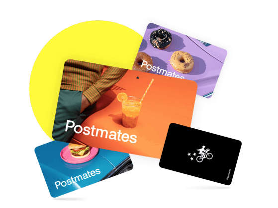 Postmates Gift Cards