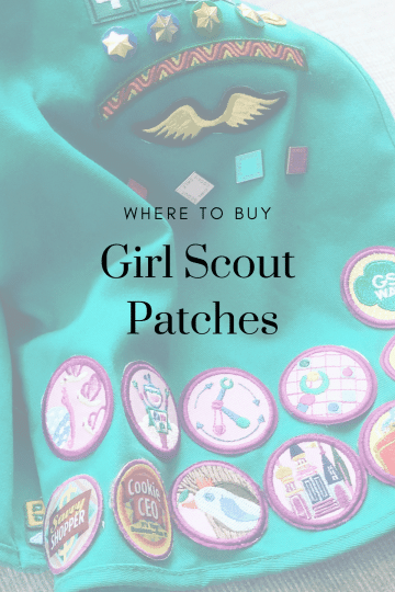 Girl Scout Patches