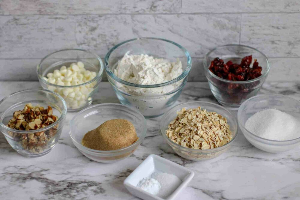 white chocolate cookie kit