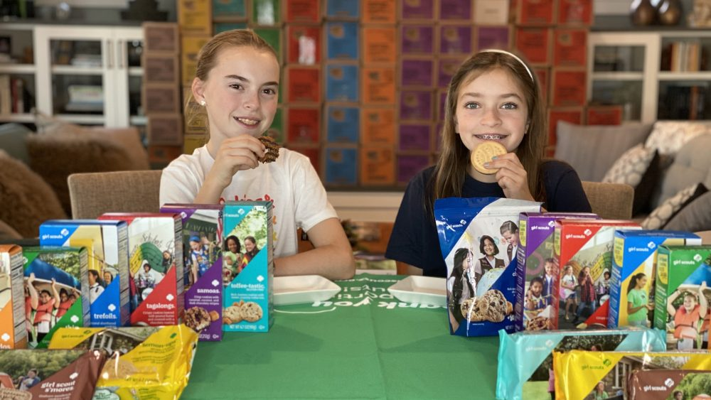 Our Girl Scout Cookie variety taste test