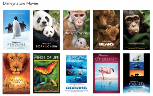 Disneynature movies