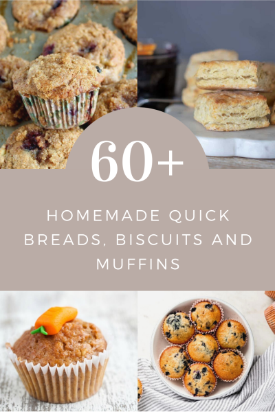 breads, muffins, and biscuits