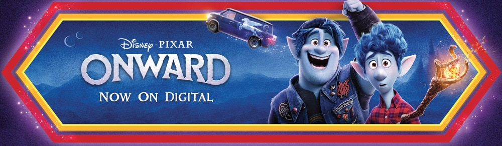 Disney Pixar: Onward, now on digital