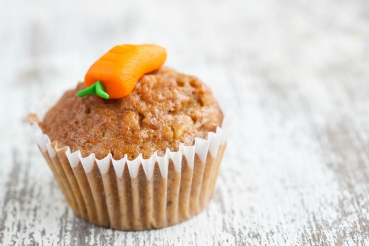 carrots muffin