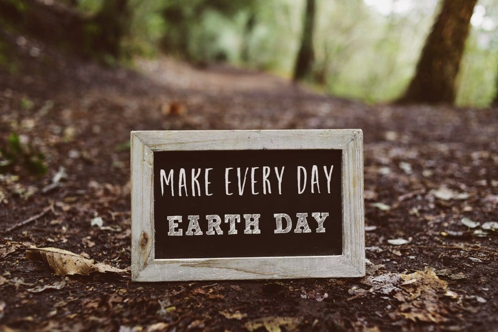 Earth Day plaque