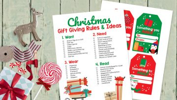 Christmas gift giving ideas