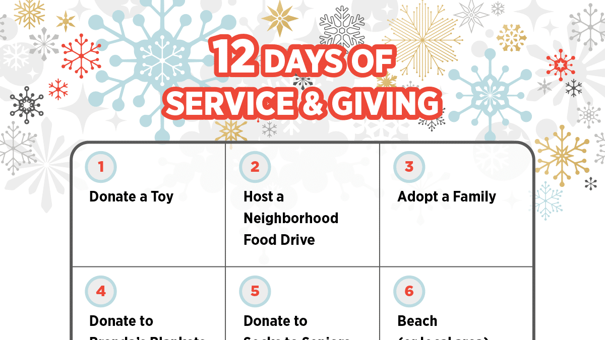 12 Days of Service & Giving PDF