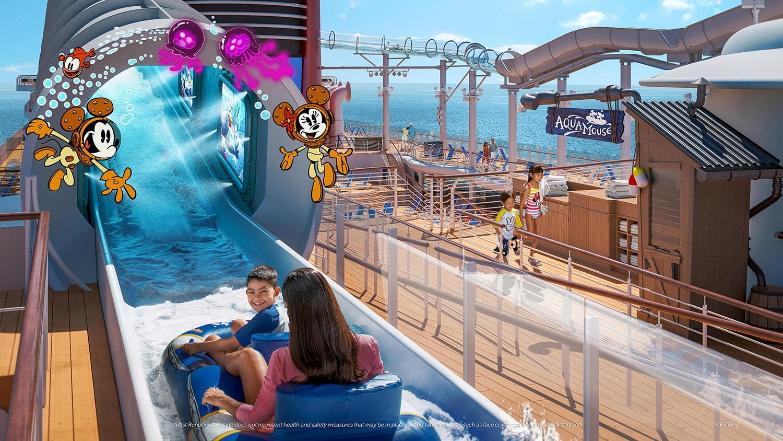 AquaMouse on the Disney Wish