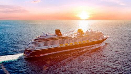The Disney Wish sets sail Summer 2022